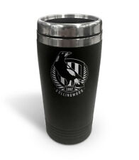 Collingwood Magpies AFL TRAVEL Coffee Mug Cup Double Wall Stainless Steel Gift