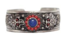 Lapis Bracelet Silver Bracelet Boho Bracelet Gypsy Bracelet Tribal Bracelet