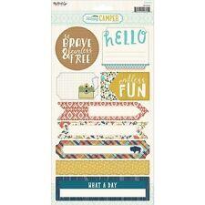 My Minds Eye Happy Camper Stickers - 535062