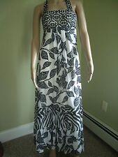 White House Black Market Gorgeous Long Summer Halter Maxi Dress 0 X-Small XS NWT