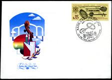 """Turkmenistan 1992 """"Traditionelle Musikinstrumente"""", MiNr 10 auf FDC"""