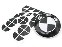 Carbon Emblem Ecken für BMW M3 M5 E60 E61 F10 E90 E91 E93 E92 F30 F31 M Paket