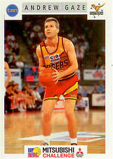 1993 Australia Basketball NBL TIPTOP Promotion Card #52 Andrew Gaze- Rare