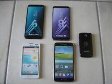 5 TELEPHONES SMARTPHONES SAMSUNG GALAXY A8 + GALAXY A 6 LG   // FACTICE \