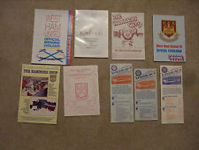 official club shop souvenir list glasgow rangers 1985/86