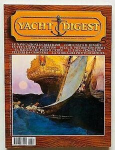 Yacht Digest Rivista 97 / 1999 Barche d'epoca Modellismo Design Dinghy Beltrami