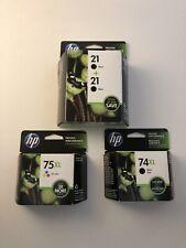 HP 21 + 21 BLACK TWIN PACK INK CARTRDIGE C9508FN OPTION 140 EXP 2016 GENUINE