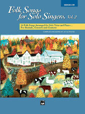 Folk Songs for Solo Singers 2. Book (ML); Althouse, Jay (editor). - 16301