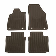 2014-2018 Chevrolet Impala Front & Rear All Weather Mats 23246361 Brownstone OEM