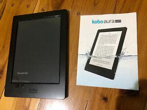 Kobo aura H20 ebook reader Waterproof - Hardly Used