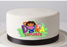 DORA Logo Edible Image REAL Icing Cake Topper