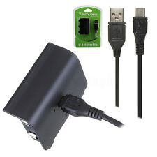 2pcs Rechargeable Play & Charge 2400mAh Battery Pack For Xbox One Controller  !