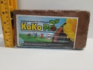 (Set of 5) KoKo Pro-Organic Condensed Coconut fiber coir potting soil 1.4lb/ea.