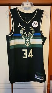 Giannis Antetokounmpo 2021 NBA Finals Milwaukee Bucks Authentic Statement Jersey