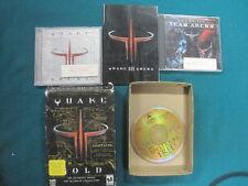 Quake III 3 Gold COMPLETE PC / Mac CD-ROM Big Box Win 95 / 98 / ME / NT / XP id
