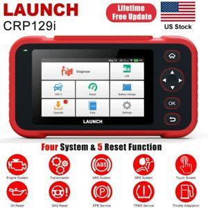 LAUNCH CRP129i Car Diagnostic Tool OBD2 Code Reader Scanner Reset SAS TPMS EPB