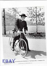 Marcello Mastroianni w/bike VINTAGE Photo Priest's Wife