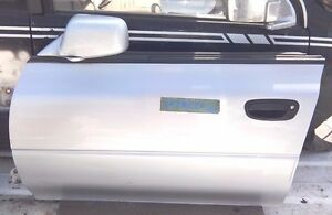 SUBARU IMPREZA GF-GF8 FRONT LEFT USED BARE DOOR 1998-99.