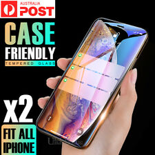 2X Tempered Glass Screen Protector For Apple iPhone 11 Pro 6s 7 8 PLUS XR XS Max