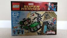NIB LEGO 76004 Marvel Super Heroes Spider-Man Spider-Cycle Chase Venom Fury Car