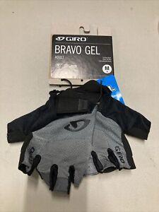 ! Giro Bravo Gel Adult Cycling MTB Bike Gloves Medium Charcoal