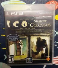The Ico & Shadow of the Colossus Collection PS3 PlayStation 3 COMPLETE
