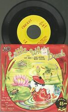 "x1 / Vinyl ""7  Single 45, Little White Duck / Betty Wells and the Playmates"