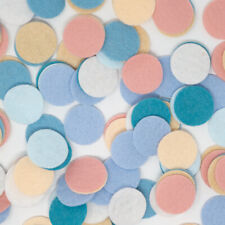 Wool Blend Felt Circle Collection - Spring Vacation Color Set - Made in USA