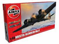 AIRFIX® 1:48 BRISTOL BLENHEIM MK.IF MODEL AIRCRAFT KIT WW2 PLANE MODEL A09186