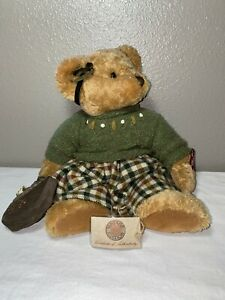 "Retired Russ Teddy Bear Vintage Edition Lady Shelby 14"" Plush"