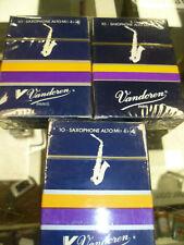 More details for vandoren alto sax reeds 4's box of 10