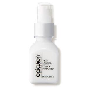 Epicuren Facial Emulsion Enzyme Moisturizer 2 oz - NEW SEALED AUTHENTIC