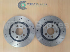 Beetle 2.0 Drilled Grooved Brake Discs Front 98-