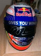 Daniel Ricciardo (Australia) signed Red Bull 1:2 Helmet + COA (signed visor)
