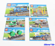 Minifiguras de LEGO, City, trenes