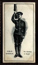 Tobacco Card, Imperial Canada, INFANTRY TRAINING, 1915, Field Signals, #47