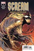Scream Curse of Carnage #1 Marvel Comic 2019 1st Print Unread NM