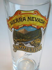 Beer Glass <> Sierra Nevada Brewing Summerfest Lager ~ Chico, California ~ Mtns.