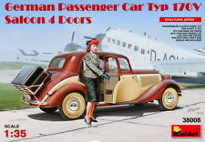 MiniArt Models 1/35 German Passenger Car Type 170V Saloon 4-Door w/Figure