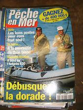 La pêche en mer N°146 Budo Débusque la dorade Thon blanc Antarès 620 Bateau