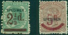 AUSTRALIA SO. AUSTRALIA #94-5 Mint SPECIMEN OVPTS