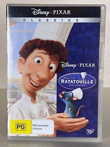 Ratatouille - DVD - Disney Pixar Classics - Animation - Free Postage - Used