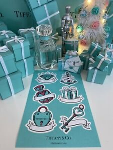 Tiffany&Co Sticker Advertising Decal Believe In Love Campaign Collectors 1 Sheet
