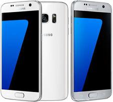 Original Unlocked Samsung Galaxy S7 SM-G930F Smartphone White+Accessories Gift