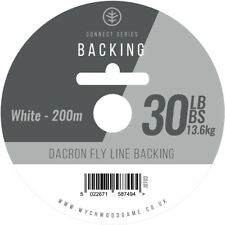 Backing Line for Fly Fishing, 30lb B/S 200 metres, Dacron, Wychwood, Salmon