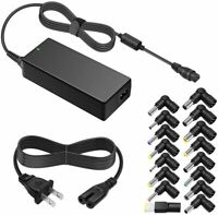 90W 15-20V AC Universal Laptop Charger for HP Elitebook Charger/Thinkpad Charger