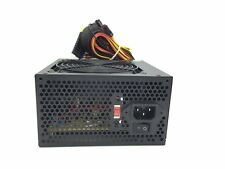 Switching Power Supply 20+4-pin Single 120mm Fan ATX w/ SATA 450W 450 Watt Black