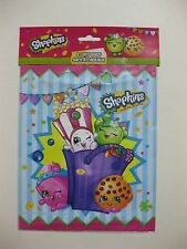 """SHOPKINS Loot Bags 8 CT. 8.5"""" x 7.25"""" FACTORY SEALED"""