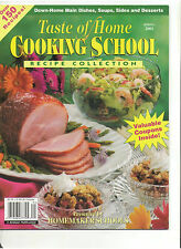 TASTE OF HOME COOKING SCHOOL RECIPE COLLECTION MAGAZINE SPRING 2OO2 NO CUTS HAM