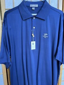 New With Tags Peter Millar Cypress Point Club Shirt - Large